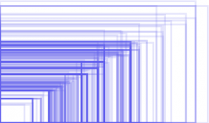 Comparison samle of screen sizes of Android devices visiting a website.