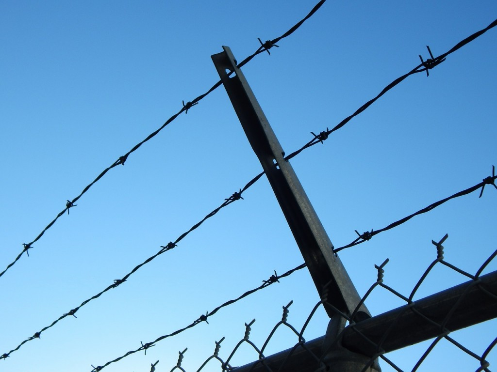 WordPress Security - Barbed Wire Fence
